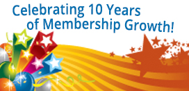 10 years of membership
