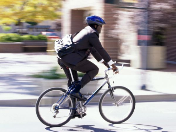 Biking to Work - Risks of Inactivity and How to Fit Your Exercise In