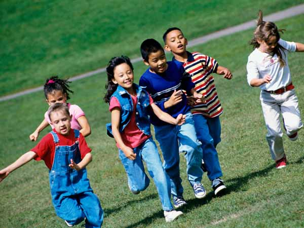 Kids Running on Field - and Other Ways to Keep Kids Active All Day