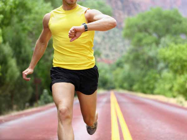 Runner Checking Time - Using Carbohydrate Loading for Performance