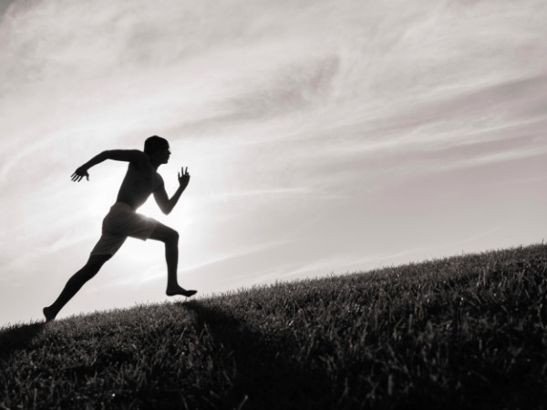 Man running - Protein and the Athlete - How Much Do You Need?