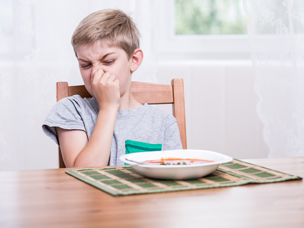 Child refusing soup - End Mealtime Battles with One Question