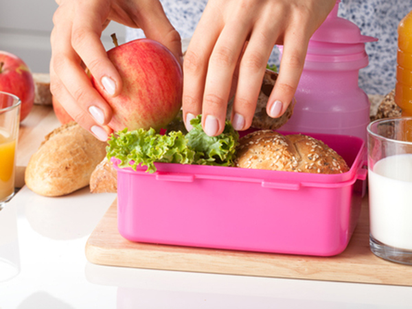 Packing a bento box lunch - Healthy Grilled Chicken Salad Recipe