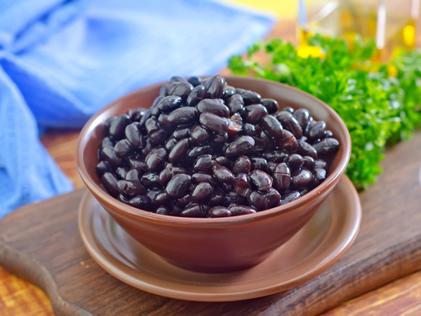 Black beans for soup