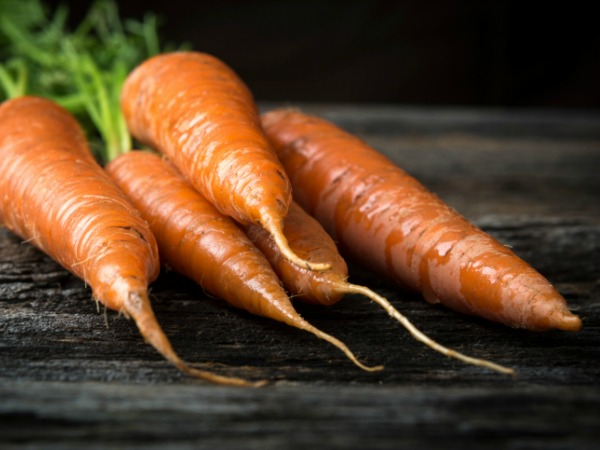 Carrots for Carrot Bread