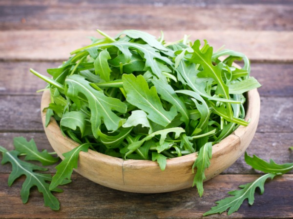 Arugula for Honey Dijon Vinaigrette Salad