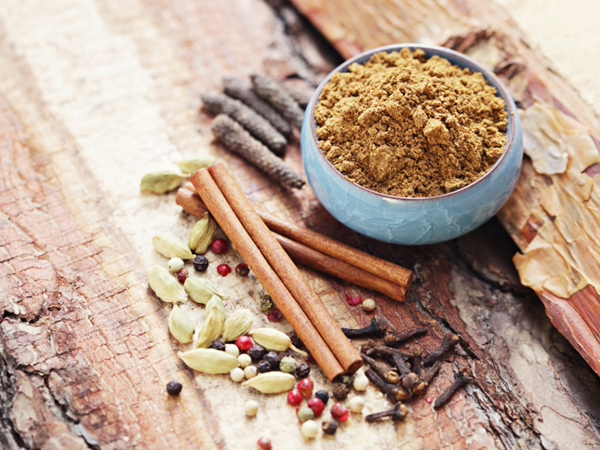 Garam masala spices for Spicy Indian Salmon