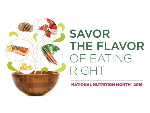 National Nutrition Month 2016