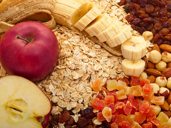 Fruits, Nuts and Oats - Easy Ways to Boost Fiber in Your Daily Diet