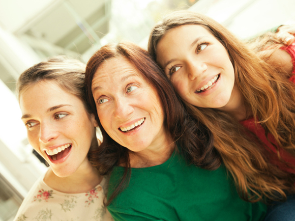 Mother and daughters - Give Your Teen's Iron a Boost