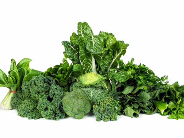 Green leafy vegetables - What Are B-Vitamins and Folate?