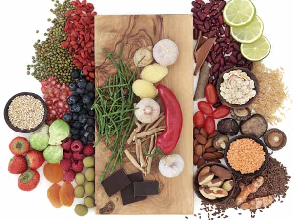 Collection of Superfoods - 7 Cancer Prevention Tips for Your Diet