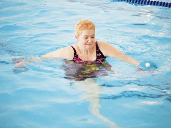 Woman Doing Water Aerobics - Can I Exercise if I Have Diabetes?