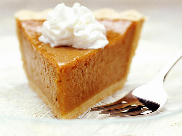 pumpkin pie - How to Enjoy the Holiday Without the Weight Gain