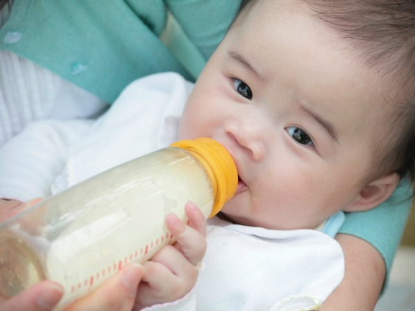 infant drinking bottle