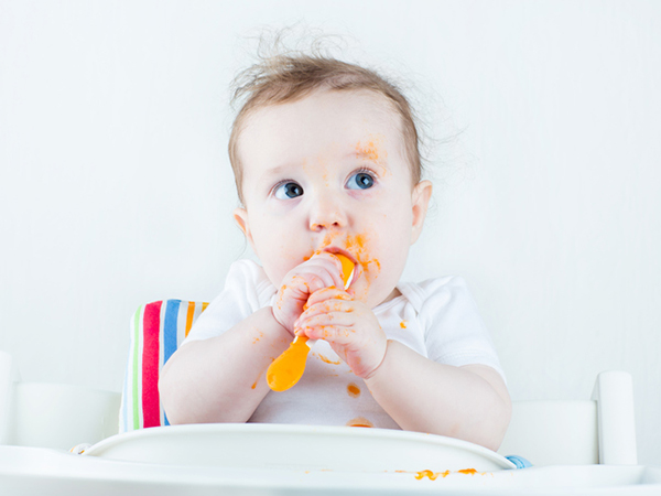 Baby Eating Food - Introducing Solids to Your Baby