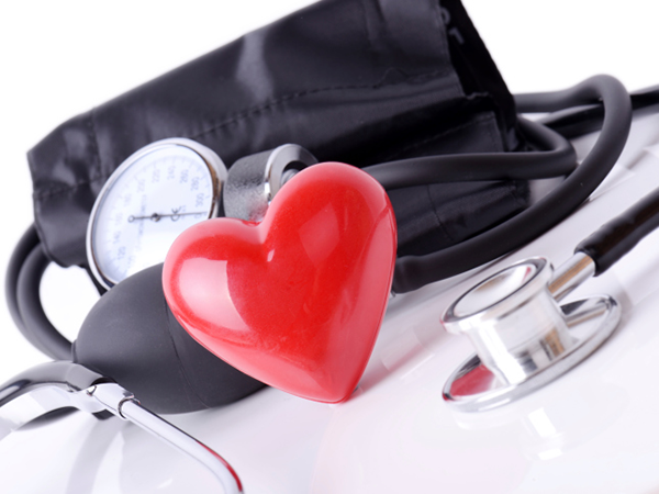 Blood pressure monitor with a heart - Combating High Blood Pressure