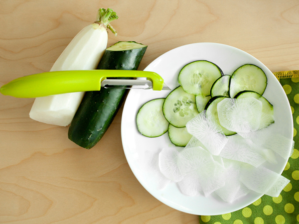 Daikon and cucumber - Pickled Vegetable Salad