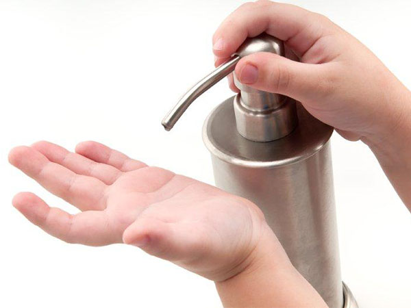 child washing hands - Which Is Best: Hand Sanitizer or Soap and Water?
