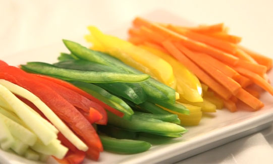 Julienne Vegetables