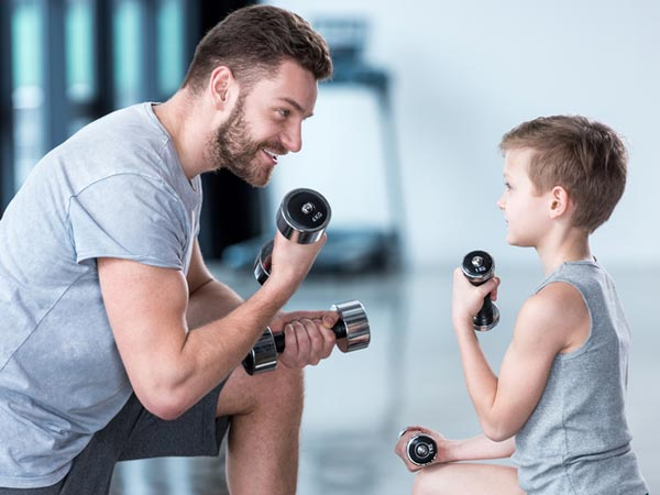 should my child lift weights