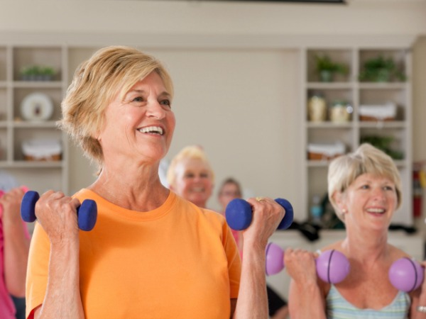 Resistance Train to Prevent Muscle Loss