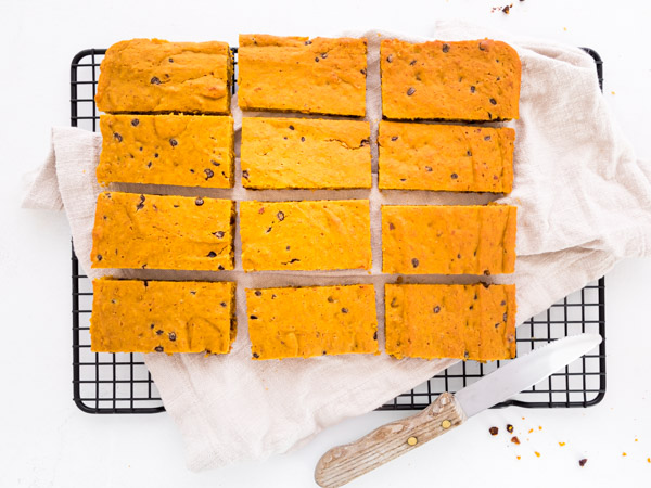 Choc Chip Pumpkin Bar
