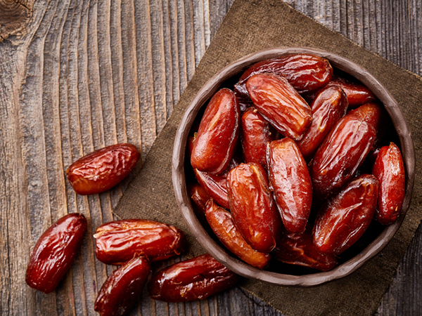 Dates - Fresh Dates Stuffed with Rosemary Mascarpone Recipe