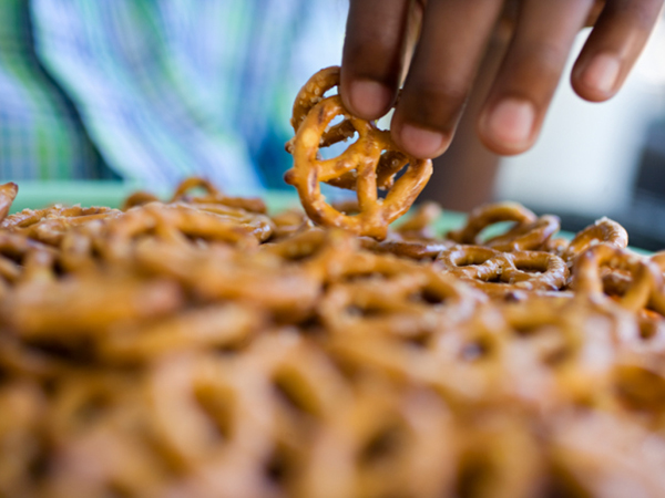 Pretzels for Pretzel Chicken with Honey Mustard Sauce