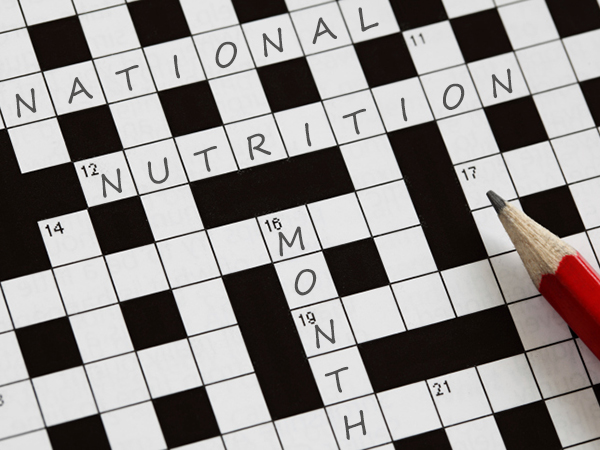 National Nutrition Month Games