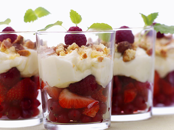 Granola and Fruit Parfait - Prebiotics and Probiotics: Creating a Healthier You
