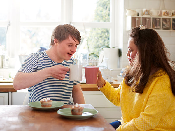 Eating Muffins | How RDNs Help Individuals with Intellectual and Developmental Disabilities