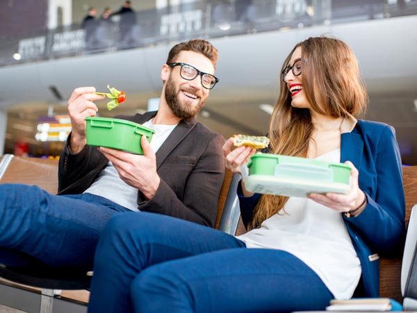 Health Takes Flight Snack Foods in Airports