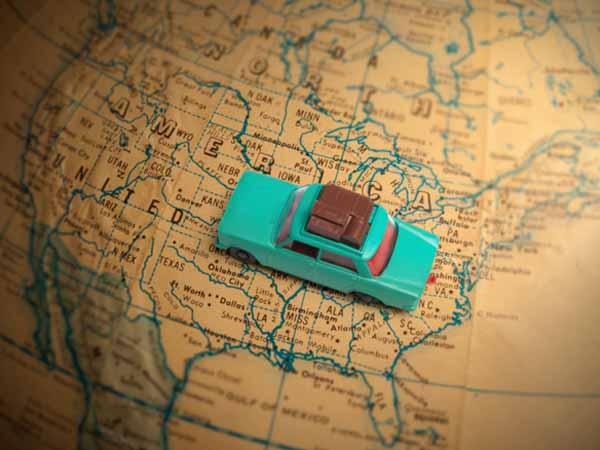 Car Driving across U.S. - Quick Guide to Food Safety While Traveling in the U.S.