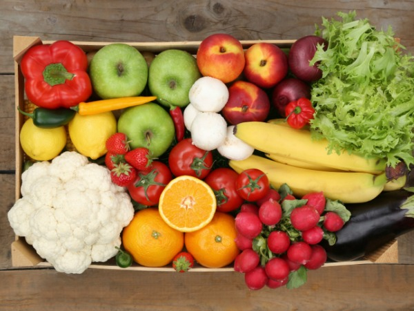 Fruit and Vegetables for DASH Diet