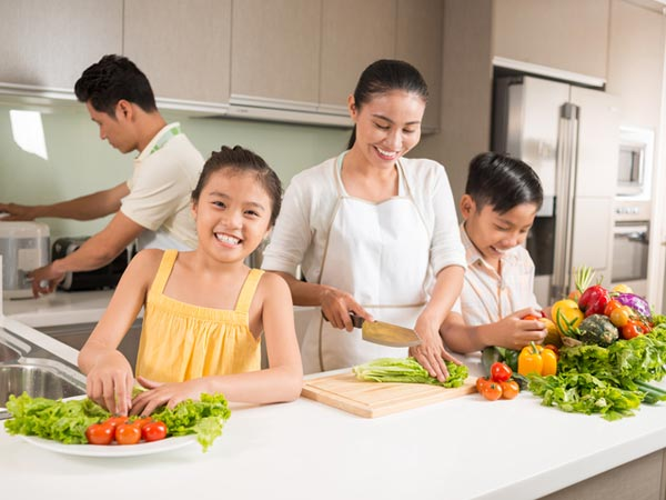 Family Dinners for a Healthy Heart