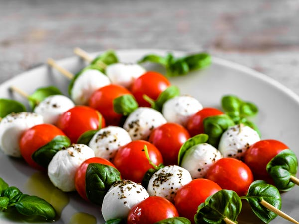 Caprese Salad on a Stick Recipe