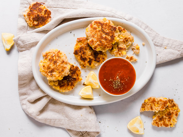 Cheesy White Bean Cakes Recipe