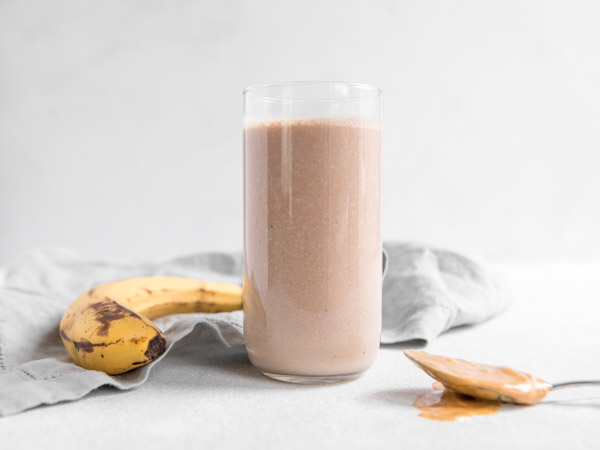 Chocolate Banana Peanut Butter Smoothie Recipe