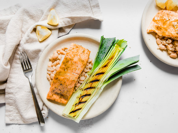 Napa Valley Glazed Salmon Recipe