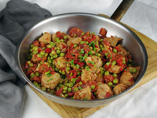 Hawaiian Pork and Peas Recipe