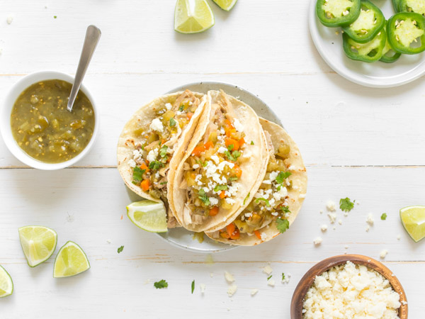 Slow-Cooker Chicken Tacos Recipe