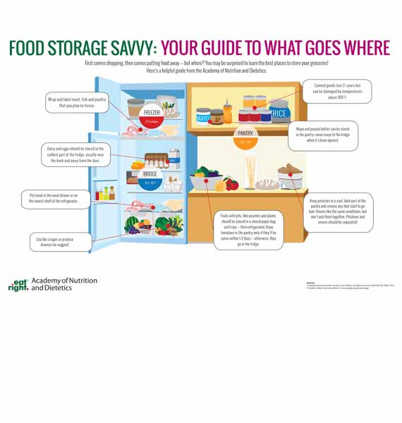 Food Storage Savvy Guide