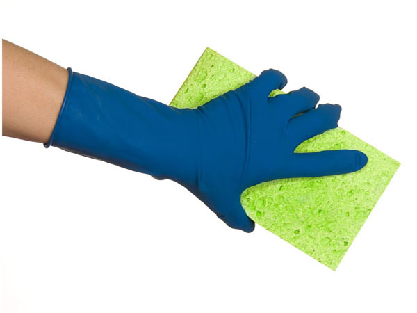 blue glove cleaning - Spring Cleaning 101