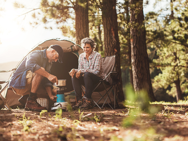 Cooking at a Campsite - Hiking and Camping with Food Safety in Mind